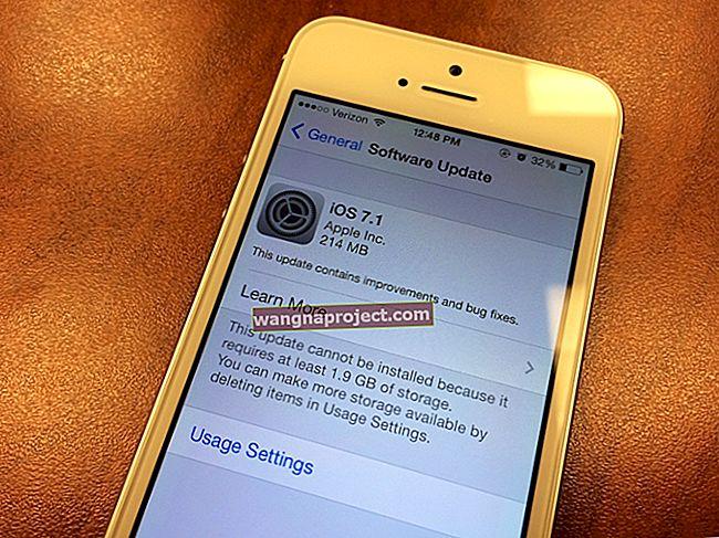 Apple, iOS 7.1'i yayınlar; nasıl güncellenir