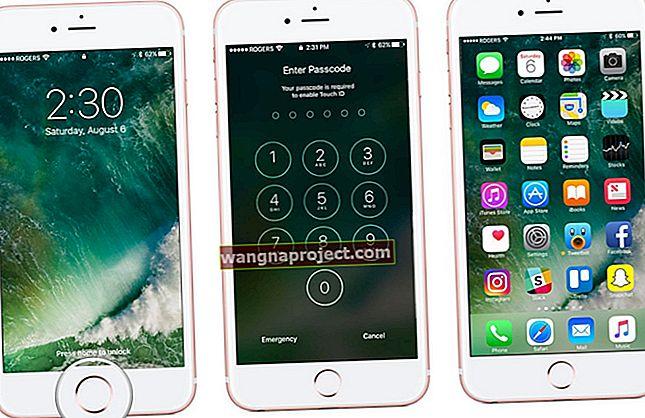 Jak odblokować ekran główny iPhone'a w iOS 10