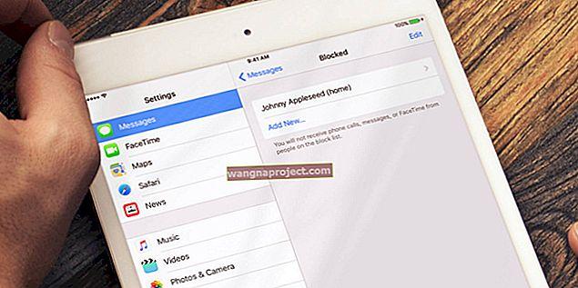 Jak blokować niechciane połączenia i wiadomości tekstowe; iPhone