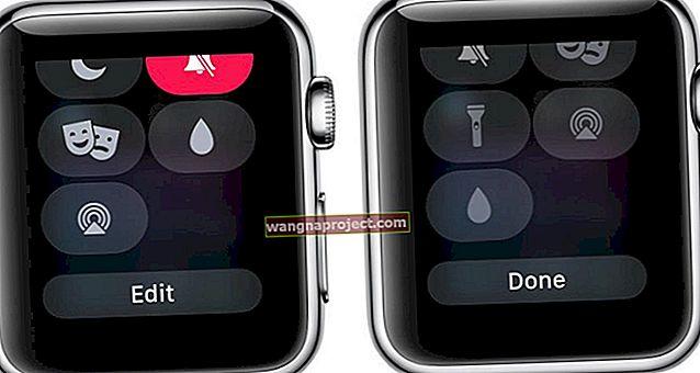 Как да редактирате Центъра за управление на Apple Watch