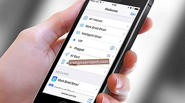 วิธีตั้งค่าเมลรายชื่อปฏิทินและอื่น ๆ บน iPhone และ iPad ของคุณ