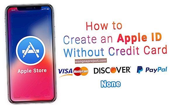 Cum se creează un ID Apple fără un card de credit?