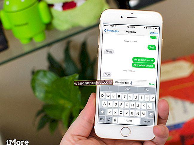 iPhone 6 не може да изпраща снимки в iMessage, инструкции