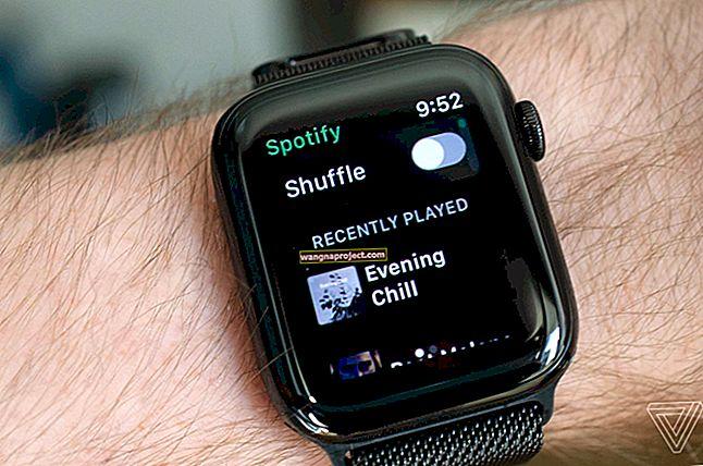 Как да използвате приложението Spotify на вашия Apple Watch