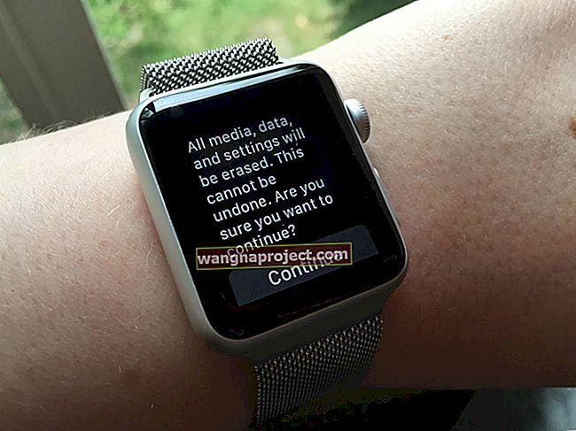 Kako razdvojiti Apple Watch i vratiti iz sigurnosne kopije