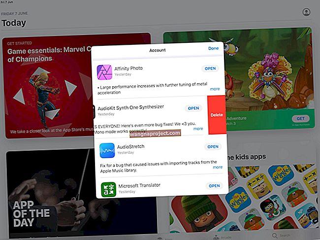 Къде е раздела App Store Update в iOS 13 и iPadOS