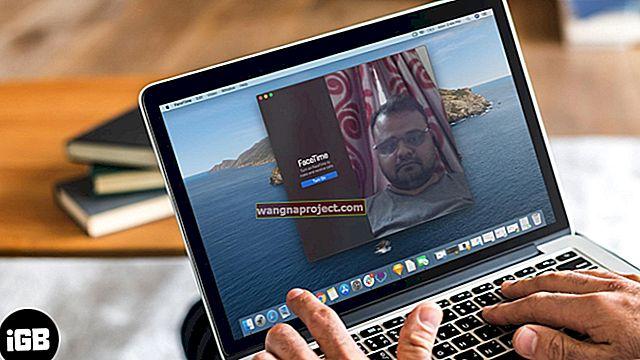 FaceTime за Mac не работи, поправете
