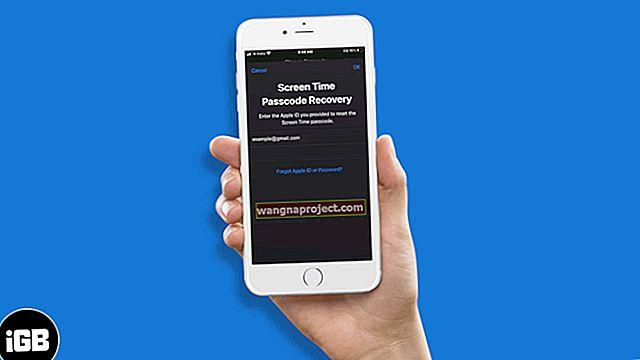 Забравена парола за iPhone / iPad? Как да нулирате паролата си