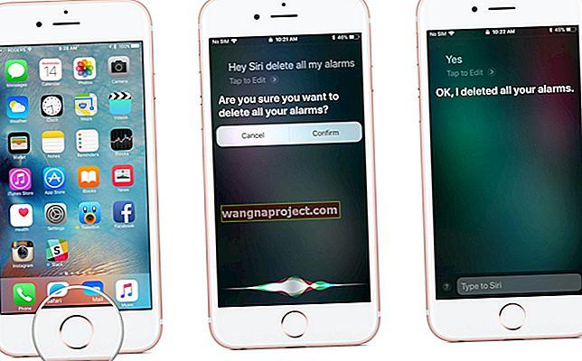 כיצד למחוק את כל האזעקות באפליקציית השעון באייפון