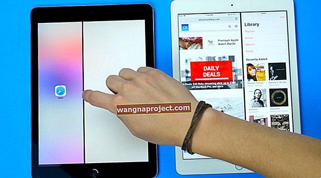 כיצד לסגור יישומים בריבוי משימות של iPad ב- Split View או Slide-Over