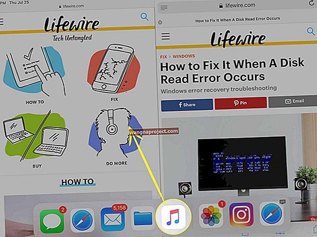 วิธีใช้แท่นวาง iPad ของคุณใน iOS 11 ขึ้นไป