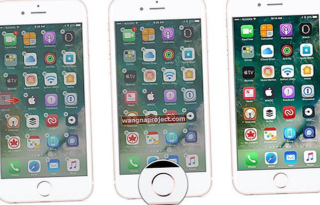 หน้าจอหลักว่างเปล่าบน iPad หรือ iPhone