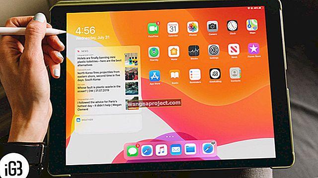 İPadOS çalıştıran iPad Ana Ekranından widget'lar nasıl kaldırılır