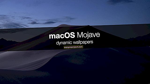 MacOS Mojave'de gizli duvar kağıtları nasıl bulunur ve yüklenir