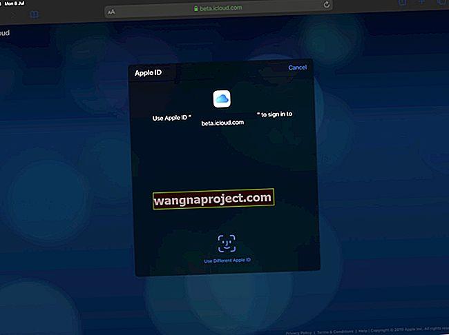 Cum să vă conectați la iCloud.com pe iPhone sau iPad