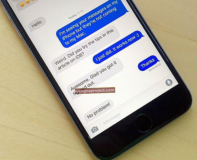 Как да изпращам SMS съобщения на iPad и Mac